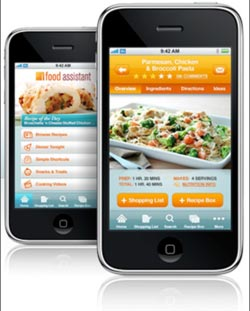 Kraft Branded iPhone App