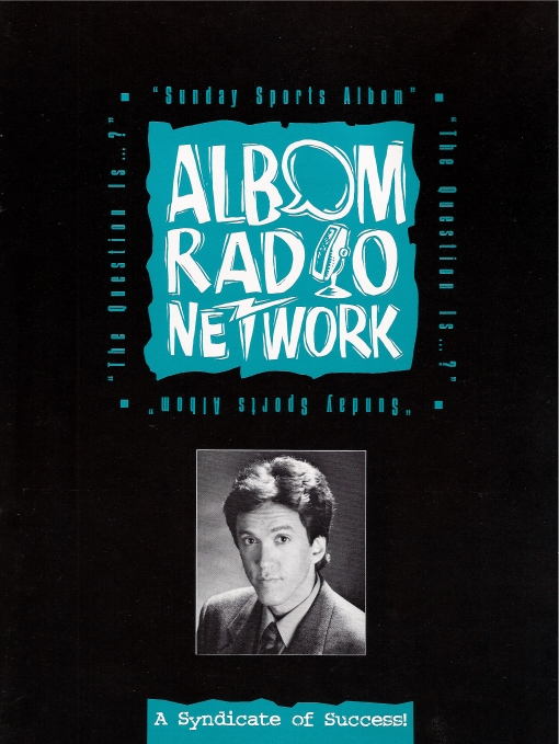 Albom Radio Network Brochure Cover Design by Circle R Brands