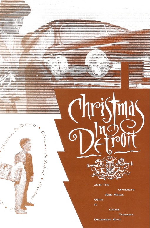 State Theatre | Christmas in Detroit Record Release Party Direct Marketing Mailer Design by Circle R Brands