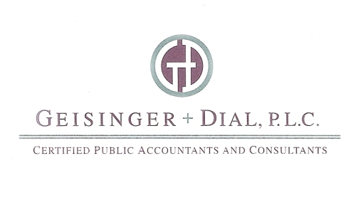 Geisinger & Dial, PLC | Accounting/Financial | Logo Design by Circle R Brands