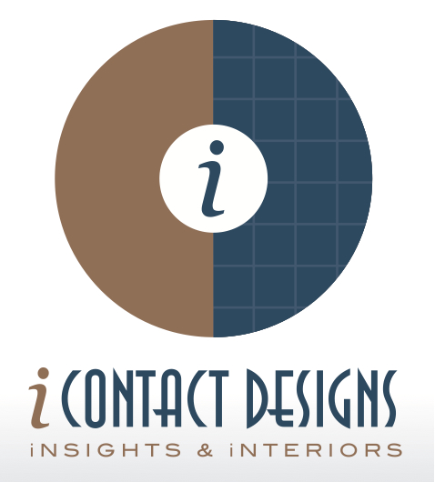 iContact Designs, Inc. | Interior Design Firm | Logo Design by Circle R Brands