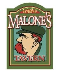 Malone's Tavern Logo Design