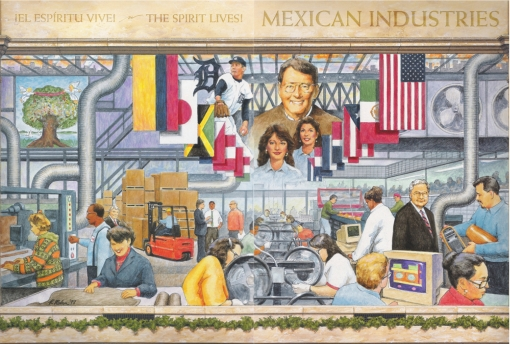 Mexican Industires Brochure Cover Design