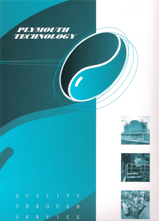 Plymouth Technology Brochure Cover Design by Circle R Brands