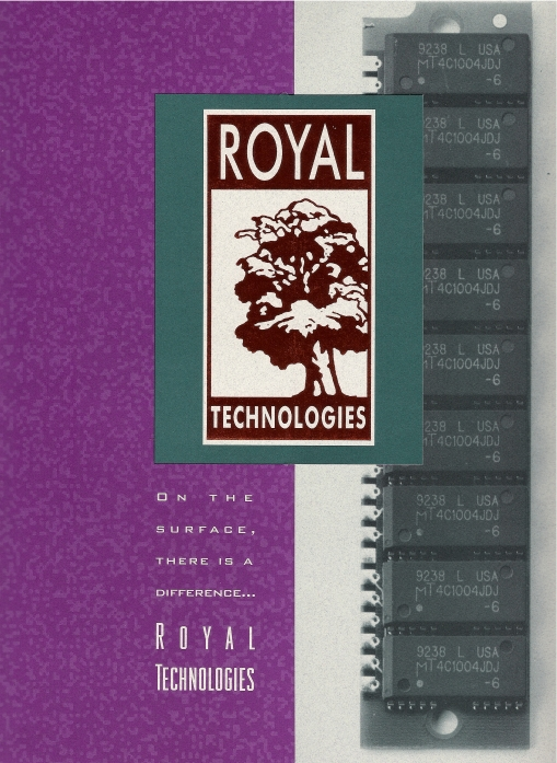Royal Technologies Brochure Cover Design by Circle R Brands