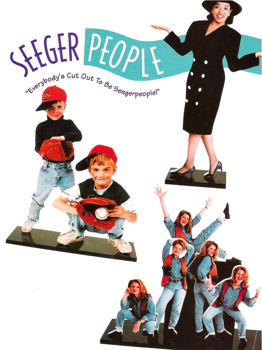 Seeger People Brochure/Mailer Cover Design by Circle R Brands