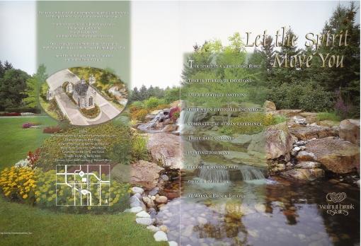 Walnut Brook Estates Brochure Design