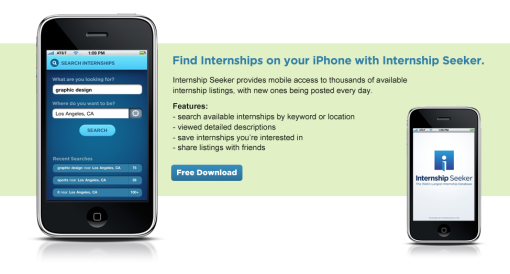 Internships.com | Internship Seeker Mobile Appication
